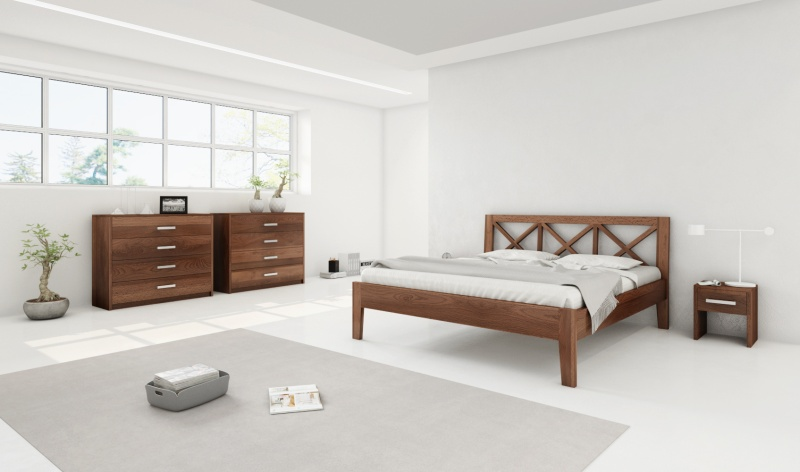 Postelia - postele z masivu