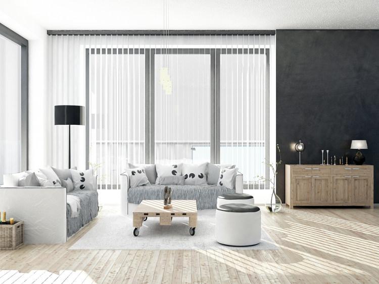 černá barva v interiéru
